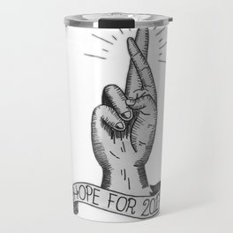 Hope for 2017 Travel Mug