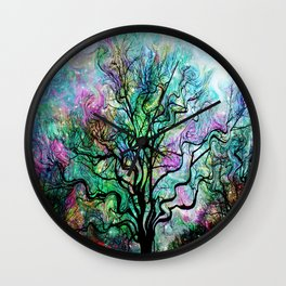Van Gogh's Aurora Borealis Wall Clock