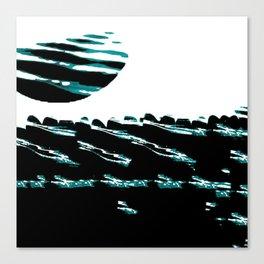 Teal Tide Canvas Print