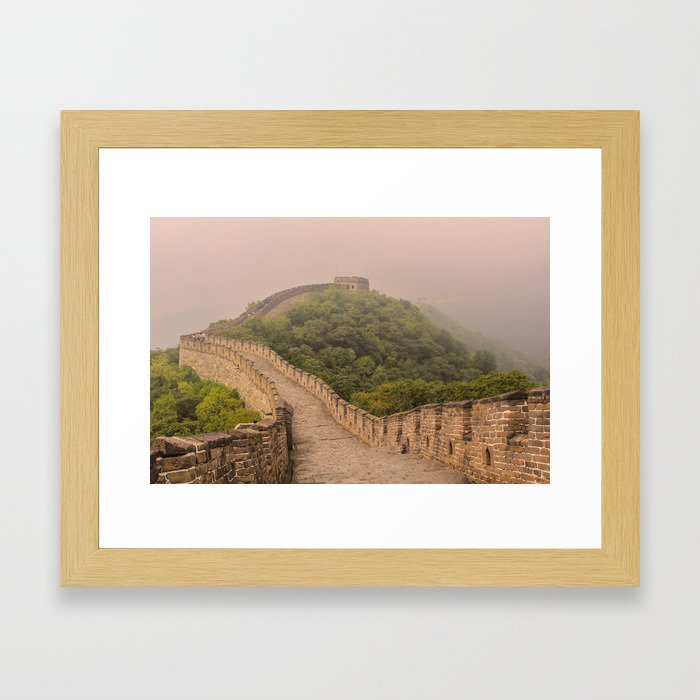 The Great Wall China Framed Art Print