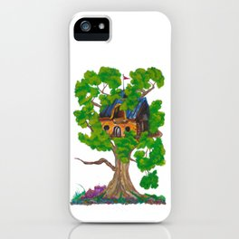 Treehouse III iPhone Case