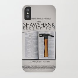 the shawshank redemption iPhone Case
