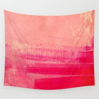 milan Wall Tapestries featuring love & emotion by Iris Lehnhardt