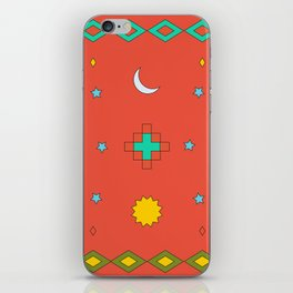 South America Dreaming iPhone Skin