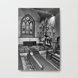 St James The Great Egerton Metal Print