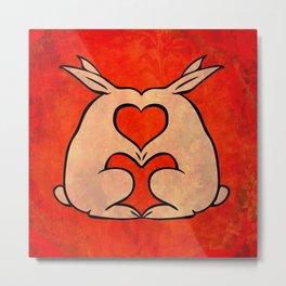 My Bunny Valentine Metal Print
