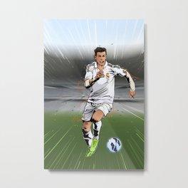 Football Stars: Gareth Bale Metal Print