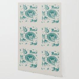 Fox Pattern Wallpaper