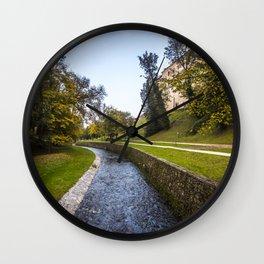 Cesky Krumlov Wall Clock