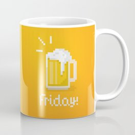 Pixel Friday Coffee Mug