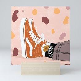 Old Skool Love Mini Art Print