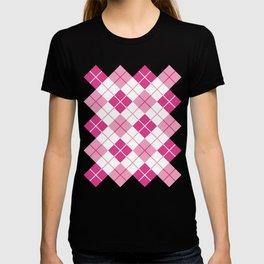 Argyle in Pink T-shirt
