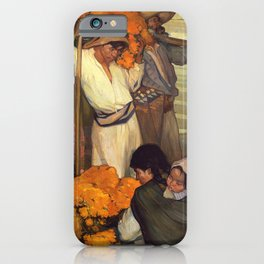 Saturnino Herran - The Offering, 1913 iPhone Case