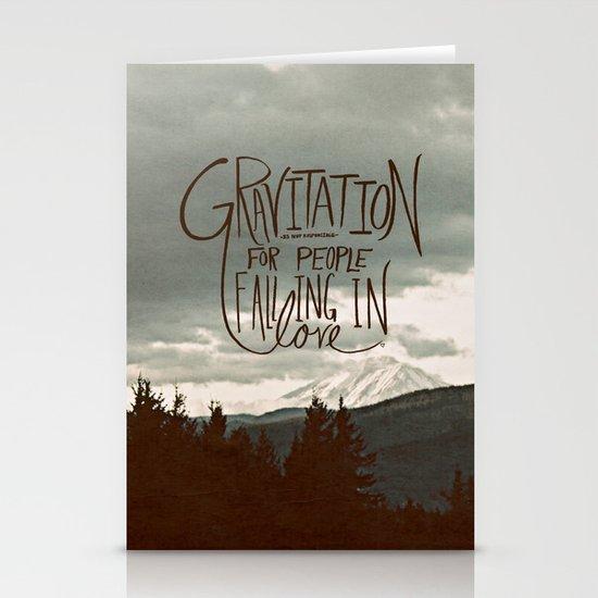 Gravitation Stationery Cards