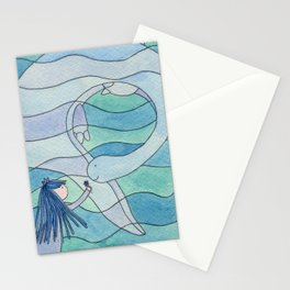 Loch Ness Monster Stationery Cards
