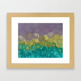 River Stones Framed Art Print