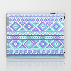 Tribal Art Creation Purple and Mint Laptop & iPad Skin