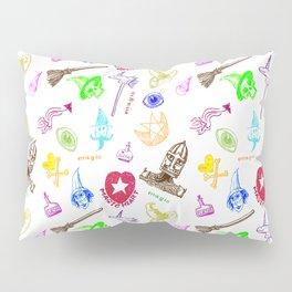 Magic symbols Pillow Sham