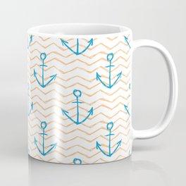 Anchors and waves Coffee Mug