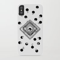 cycling iPhone & iPod Cases featuring Contingency Cycling by Night Version
