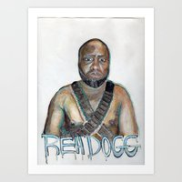 youtube Art Prints featuring YouTube Sensation by Reh Dogg Gallery