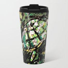 Sunset turtle Travel Mug