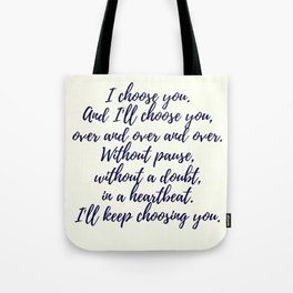 Wedding Quotes Tote Bag