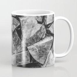 Woodpile | Firewood Stack Coffee Mug