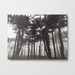 Foggy Presidio Metal Print
