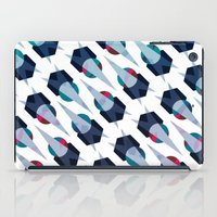 arya iPad Cases featuring Graphic Pattern - Geometric, Spacey, Angled by Hinal Arya