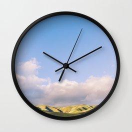 California - Rolling Wall Clock