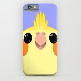Cockatiel Yellow Birb Baby – v01 iPhone Case