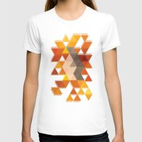 coachella T-shirts featuring Geometric Penguin by Joel M Young