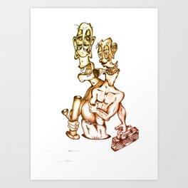 The Core Subversor CHILLER 2 Art Print