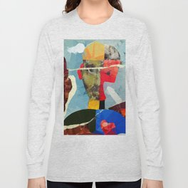 abstraction portrait Long Sleeve T-shirt
