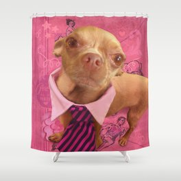 PHiNEAS (old school) Shower Curtain