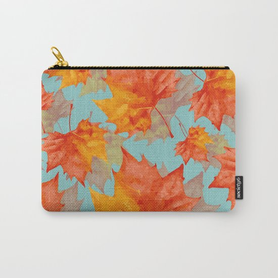 AutumnLeaves Carry-All Pouch