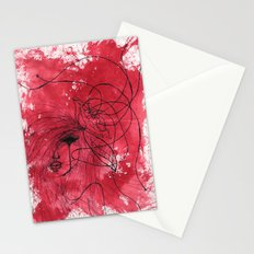 The Mean Reds Stationery Cards