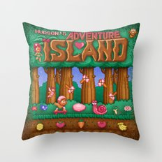 Island Adventure Throw Pillow