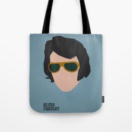 Rock Legends - Elvis Presley Tote Bag