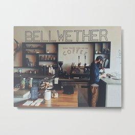 Bellwether Coffee Metal Print