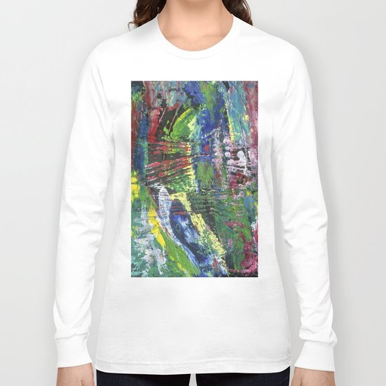 Abstract painting 12 Long Sleeve T-shirt