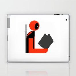 Dead Gentleman Reads Laptop & iPad Skin