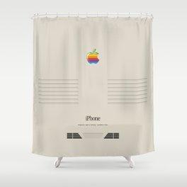 geeky shower curtains. IPhone Macintosh Retro Design Shower Curtain Geeky Curtains F