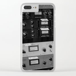 Outboard Gear Clear iPhone Case