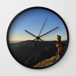 Island Meditation Wall Clock