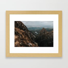 Giant Mountains - Landscape and Nature Photography Framed Art Print