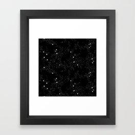 Domio Constellation Framed Art Print