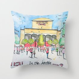 In the Junction Throw Pillow