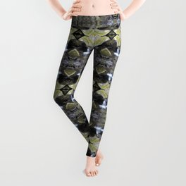 Peekamoose Waterfall Rocks Pattern Leggings